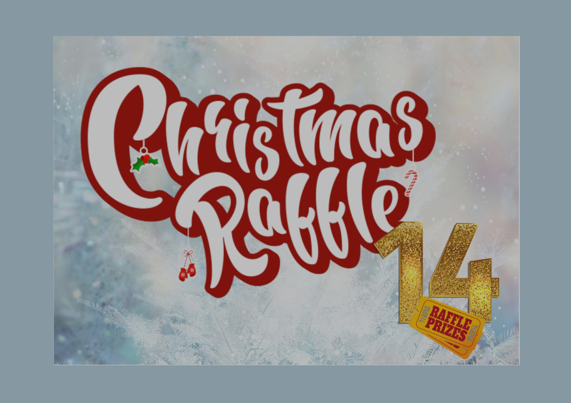Our Mega Christmas Raffle is now available online